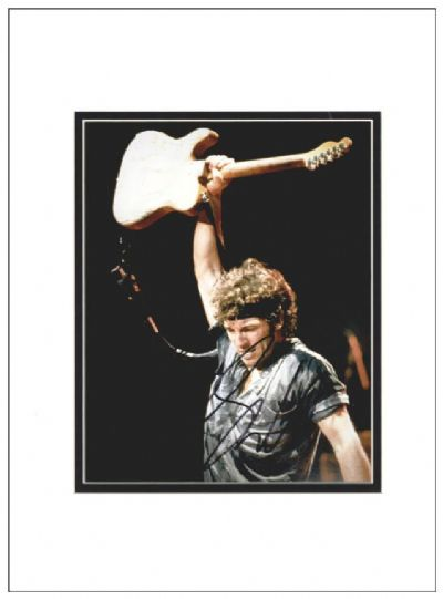 Bruce Springsteen Autograph Signed Photo